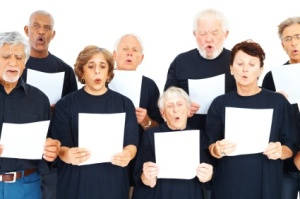Elderly choir