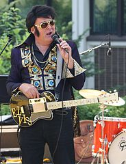 I can't pass as Elvis. Hire a real impersonator for that.